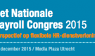 Keynote at Nationale Payrolling Congres – December 14, 2015