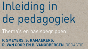 Book chapter (Dutch) on games and pedagogy