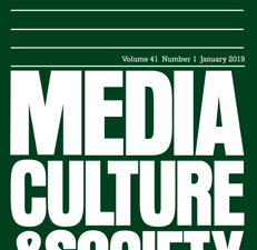 Article on Facebook Messenger for Media, Culture & Society
